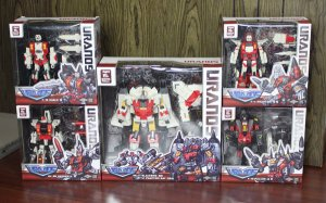TFC Transformers The Uranos Full Set Action Figures