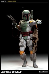 "SIDESHOW 2128 Star Wars Boba Fett 12"" Figure IN STOCK"
