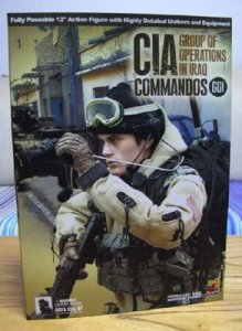 Hot Toys CIA Commandos GOI Group of Oerations in Iraq 1/6 RARE