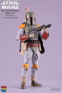 "Medicom & SIDESHOW RAH Star Wars Boba Fett Return of the Jedi ver. 12"" figure"