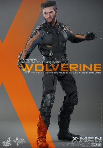 "HOT TOYS X-Men: Days of Future Past Wolverine Hugh Jackman 12"" Figure IN STOCK"