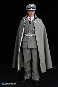 1/6 DID 80080 WWII Officer in France Hans /w 2 heads Inglourious Bastards mib