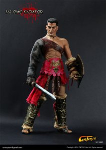 CMTOYS H005 Roman Gladiator 1/6 Figure(Muscular body Full rubber skin layer)