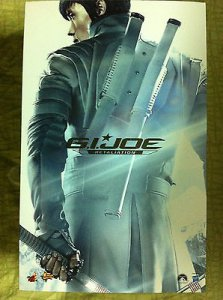 Hot Toys hottoys Storm Shadow G.I.Joe 1/6 Scale Action Figure MMS 193 Empty Box
