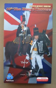 DID Napoleonic Series 15th The King\'s Hussars George 1/6 Figure N80058