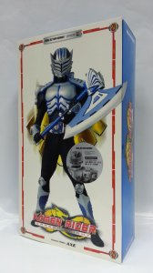 "Medicom Toy Masked Rider AXE Dragon Knight RAH 12"" Action Figure Kamen Rider MEDRAH505"