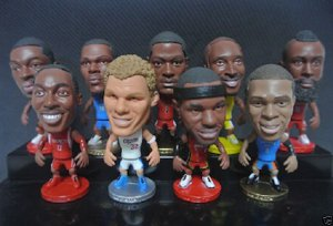 2014 Set of 9 NBA 6.5cm figures Collections NEW Toys