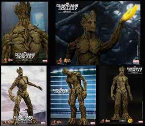 Hot Toys Guardians of the Galaxy Groot 1/6 - MMS253