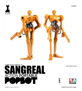 THREEA Ashley Wood Action Portable Sangreal 1/12 Figure Single Pack IN STOCK