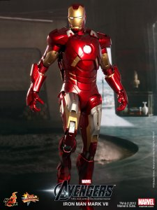 Hot Toys MMS185 1/6 The Avengers Iron Man Mark 7 MK VII Exclusive Special MISB