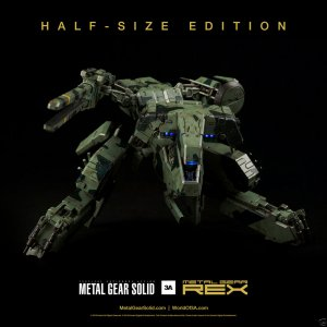 "3A TOYS Metal Gear REX & RAY Half Size Versions 8"" Revealed - DEPOSIT - Q3 2015"