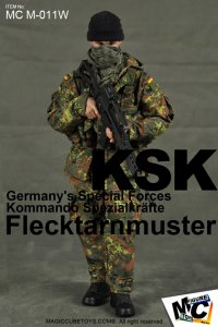 Magic Cube Toys German Special Forces KSK Flecktarn Muster 1/6 Figure