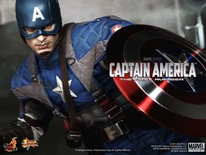 HotToys MMS156 Captain America The First Avenger 1/6 Figure In Stock