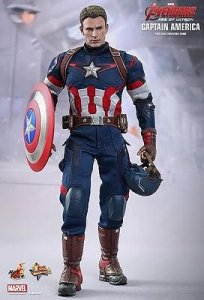 Hot Toys MMS281 Avengers Age of Ultron Captain America 1/6th Figure