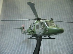 AMER British Army LYNX AH.7 military helicopter 1/72 Diecast Model