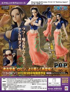 Megahouse One Piece POP The New World Sailing Again NiCO ROBIN PVC Figure