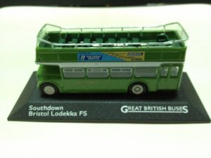 Atlas Great British Buses Southdown Bristol Lodekka FS 1/76 Diecast Model