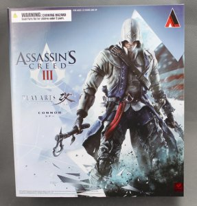 Square Enix PLAY ARTS Kai ASSASSIN'S CREED III Connor Action figure