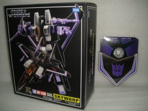 Takara Tomy Asia Exclusive Transformers Masterpiece MP-11SW Skywarp w/ Coin