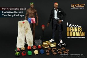 1/6 Scale Storm Toys Dennis Rodman Deluxe Ver (2 bodies + 3 heads)