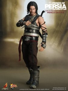 "HOT TOYS Prince of Persia The Sands of Time Prince Dastan 12"" Figure"