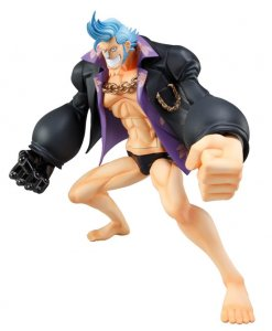 Megahouse One Piece POP NEO Strong Edition Franky PVC Figure