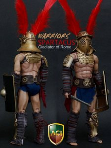 1/6 Scale ACI Warrior Series: Gladiator of Rome 2 Spartacus Box