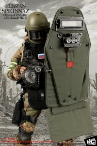 MCTOYS - M051 Russian Spetsnaz-Officer of FSB Alfa with Assault Shield 1/6