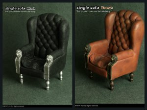 [ CMTOYS ] New: 1/6 proportion - Arm Chair Sofa S 1 or S2 Colour HOT