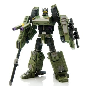 Warbotron Transformers WB01-B Bruticus Heavy Noisy Figure 2.0 Version