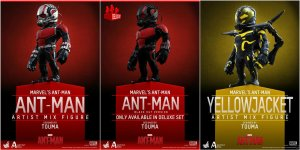 HOT TOYS Ant-Man - Cosbaby Set 3 in 1 Figures by TOUMA - DEPOSIT - Q3 - Q4 2015