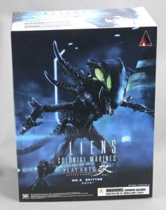Square PLAY ARTS Kai Aliens Colonial Marines No.2 Spitter figure