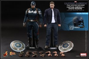 Hot Toys 1/6 MMS243 The Winter Soldier: Captain America Head sculpt