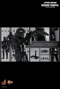 Hot Toys MMS 271 Star Wars Stormtrooper Galactic Empire Shadow Trooper NEW