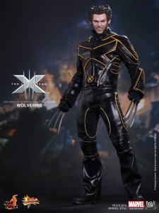 "HOT TOYS MMS187 X-Men: The Last Stand Wolverine Hugh Jackman 12"" Figure"
