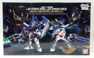 BANDAI LBX Z MODE LBX IKAROS ZERO & LBX IKAROS FORCE ACTION FIGURE