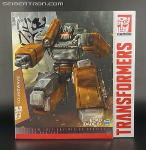 TRANSFORMERS 2015 Year of the Goat Platinum Edition MP-13 SOUNDWAVE Figure
