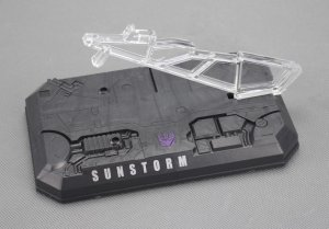 TRANSFORMERS Figure Base Stand Fit for Masterpiece MP11S SUNSTORM