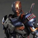 BATMAN ARKHAM ORIGINS NO.2 DEATHSTROKE PLAY ARTS KAI ACTION FIGURE PA AQ4700