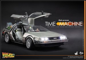 Hot Toys 1/6 MMS260 Back to the Future: DeLorean Time Machine Vehicle
