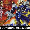 POWER RANGERS SENTAI DX JUNGLE FURY RHINO MEGAZORD MISB FIGURE PA AQ1459