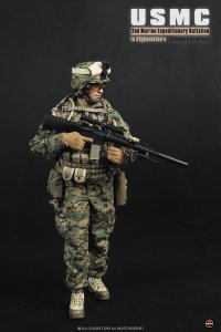 "1/6 Soldier Story SS066 12"" USMC 2nd Marine Expeditionary Battalion Afghanistan"