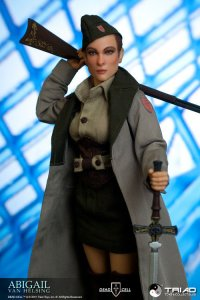 Triad Toys 1/6 ABIGAIL VAN HELSING Dead Cell Sixth Scale Female Figure