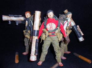 THREEA Ashley Wood Action Portable Heavy TK Set 3-pack 1/12 Figure