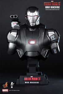 Hot Toys hottoys Iron Man 3 War Machine 1/4th scale Limited Edition Bust HTB10