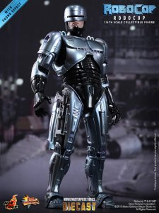 HOTTOYS MMS202D04 Diecast RoboCop ALEX MURPHY 1/6 Figure IN STOCK