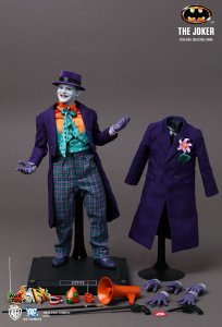 Hot Toys hottoys The Joker Batman 1/6 Scale Action Figure DX08