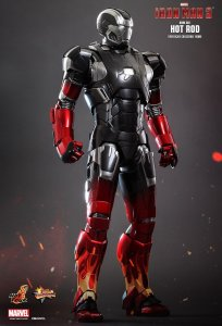 Hot Toys hottoys Hot Rod (Mark XXII) Iron Man 3 1/6 Scale Action MMS272D08