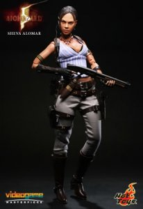 1/6 Scale Hot toys VGM07 BIOHAZARD 5 Sheva Alomar - BSAA Ver Box Set MIB