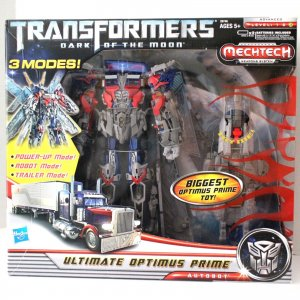 Transformers Movie Dark Of The Moon DOTM MechTech Ultimate Optimus Prime 3 Modes